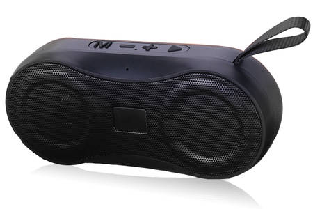 Fabric Bluetooth Speaker with Leather Handle