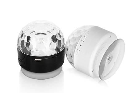Mini Speaker With Electroplated Cover