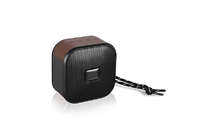 2019 Mini Bluetooth Wireless Leather Art Speaker Wireless Speaker With FM Radio