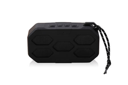 Cylindrical Portable Wireless Bluetooth Speaker With handle