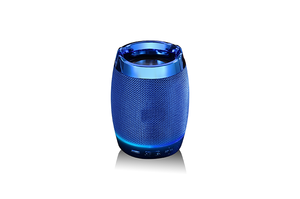 Mini portable Wireless bluetooth speaker subwoofer with Mobile phone holder bluetooth colorful light speaker