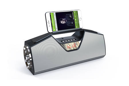 Bluetooth Speaker mit Phone Holder
