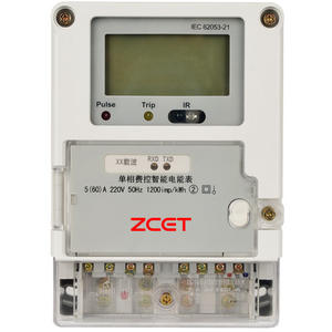 China Smart Single-phase Energy Meter Supplier