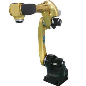 6DOF robot arm with 15kg payload 1400mm arm reac
