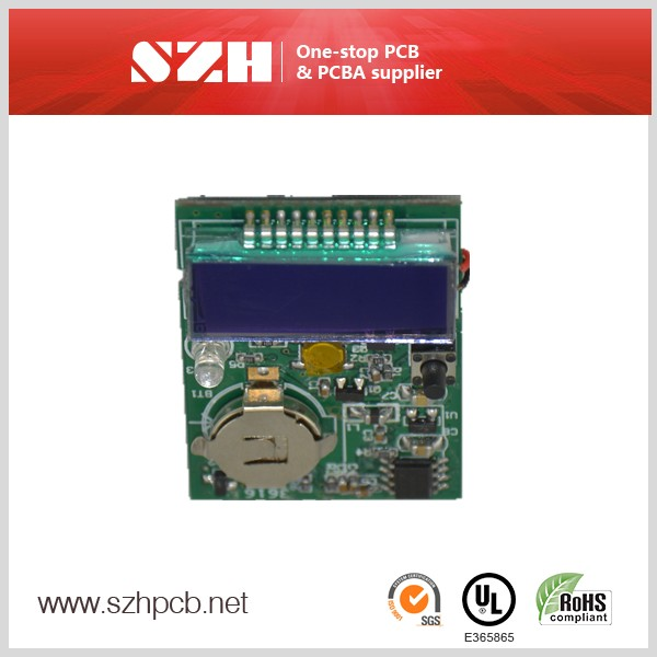 Disposable counter pcb board