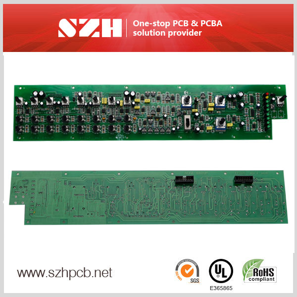 Industrial Control System Printed Circuit Board Assembly