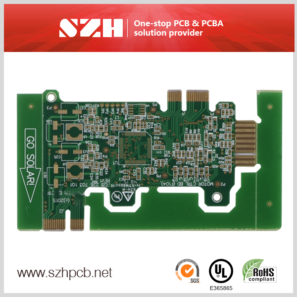 Controle Industrial de Dedo de Ouro 4 Layer PCB Supplier