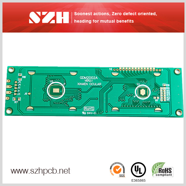 IC Bonding Board Módulos LCD PCB Supplies
