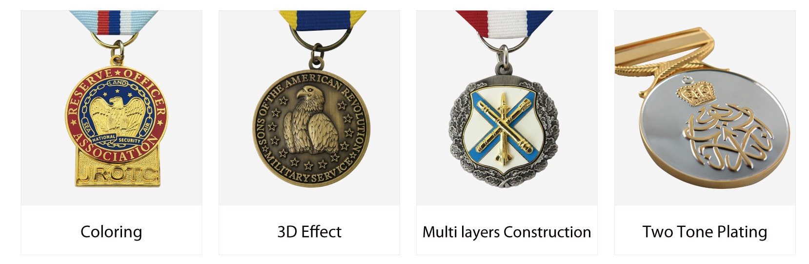 medallion process options from brilliant-promotions.com