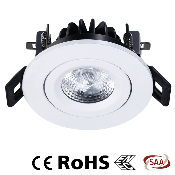 Led downlight 230v avec ressort intelligent - VA6084 -