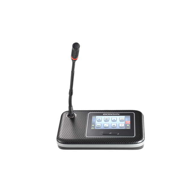 DCS-1022F-W Triple-band Wireless Desktop Discussion System with Interpretation and Voting