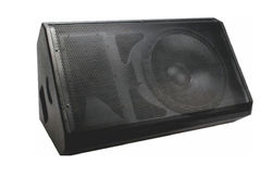 Single 12-inch Monitor Wedge Speaker