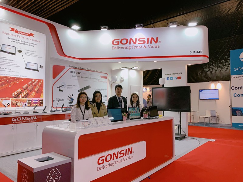 The new ASR System shown at ISE2020 | Gonsin Exhibition Report | Part 1