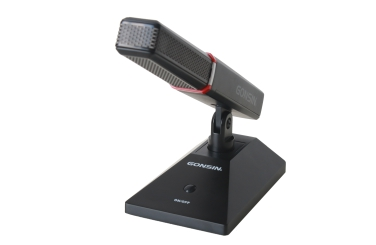 Rectangular Columnar Short Microphone MIC-240B