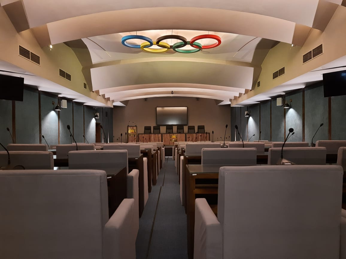 Congrats! GONISN conference solution applied in the National Olympic Committee of Sri Lanka