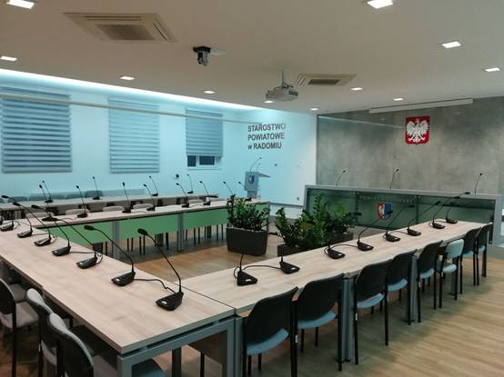 GONSIN Discussion System Installed in Multiple Municipal Offices