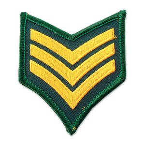 Custom Officer Military Rank Chevrons Wholesale from Expert Maker-JIAN