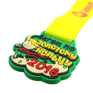Custom PVC Medals are Special, Durable and Colorful That have Many Advantages