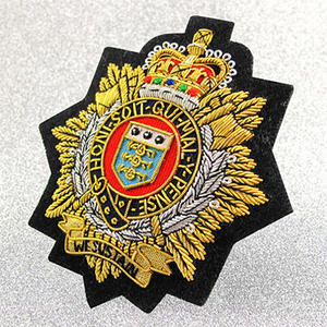 Top Quality Special Bullion Patches From Custom Maker