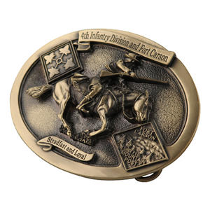 High quality custom belt buckles for uniforms or casuals at factory price