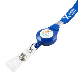 Convenient custom lanyards with badge reel are largely applied in daily life