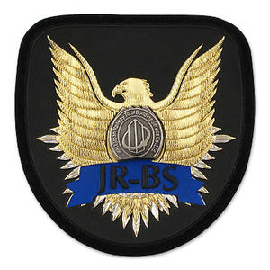 Custom Embossed PVC Patches or Epaulettes from JIAN with Professional Solution