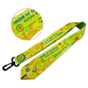 Cost Effective High Quality Custom-made Dye-sublimated Lanyards from Jianpins