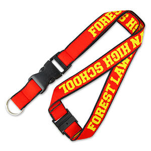 Fine satin woven lanyards with distinctive look are great for events use