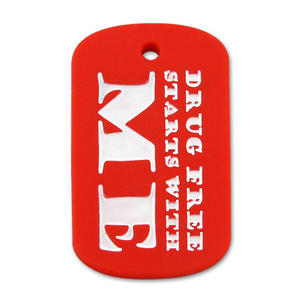 Personalized Custom Silicone Dog Tags are Safe/Hardwearing/Longlasting for Men