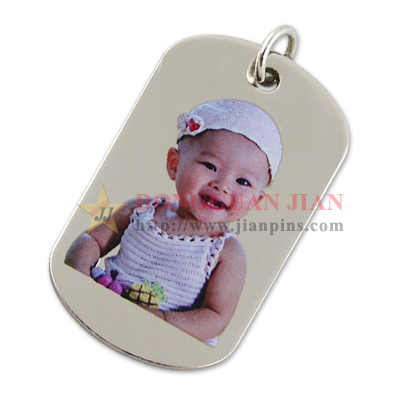 dog tags keyring