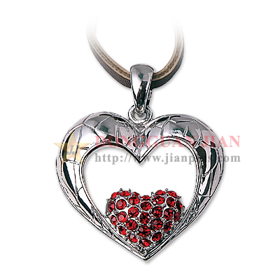 Heart Shaped Necklace Pendants
