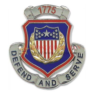 Zinc Alloy Military Badges