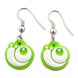 Flexible Soft PVC can be Used to Create Fashion PVC Earrings with Any Designs