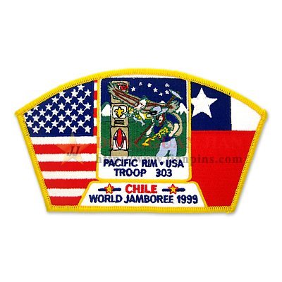Elaborate Scout Patches