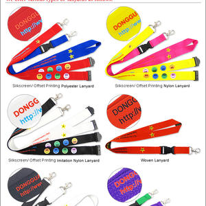 Promotional custom lanyards from China lanyard supplier