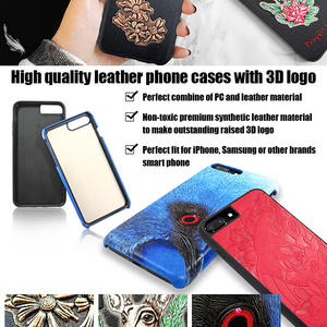Superb Phone Protection - Leather Cell Phone Cases with 3D Logo