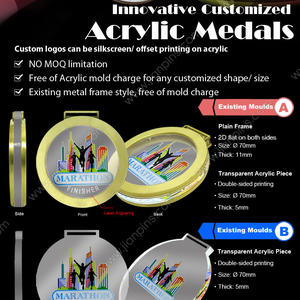 Innovative Customized Acrylic Medals with New Fashion Inspiration from JIAN