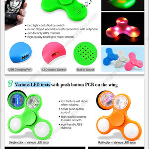 New Function Led Fidget Spinner