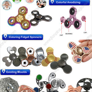 Innovated Qualified Custom-made Metal Fidget Spinner From JIAN
