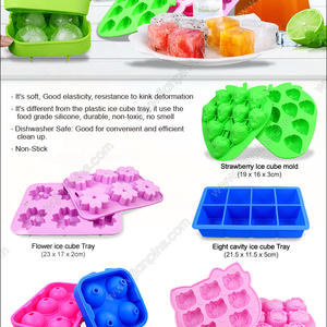 Novelty Silicone Ice Cube Trays