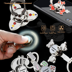 Upgraded Fidget Spinner keyring and phone ring holder with more functional use