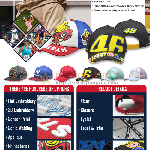 Custom Baseball Hats Wholesale