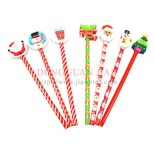 Suppling stylish Christmas Pencils with your brand logo for promotion business