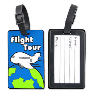 Customizing Practical PVC Luggage Tags with Your Design is Hassle-free in JIAN