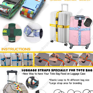 Brand New Cross Luggage Straps provide extra security for your luggage