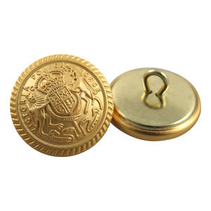 Wholesale Factory Supplying High Quality Metal Buttons Of Appealing Look