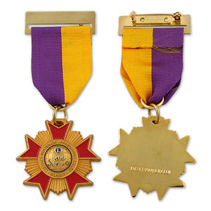Custom military medals or medallions made of rare cloisonné lasting 100 years