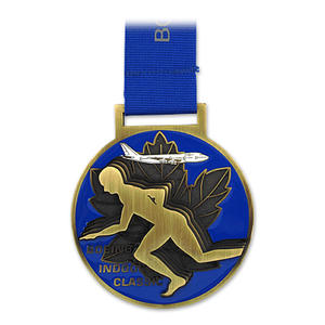 Customize your sports medals & award medals here in reliable factory Jian