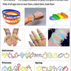 assorted silly bands Shaped Rubber Bandz Silly Bandz Crazy Bands