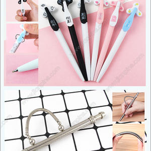 Novelty fidget pens fidget spinner pens fidget ball point pens